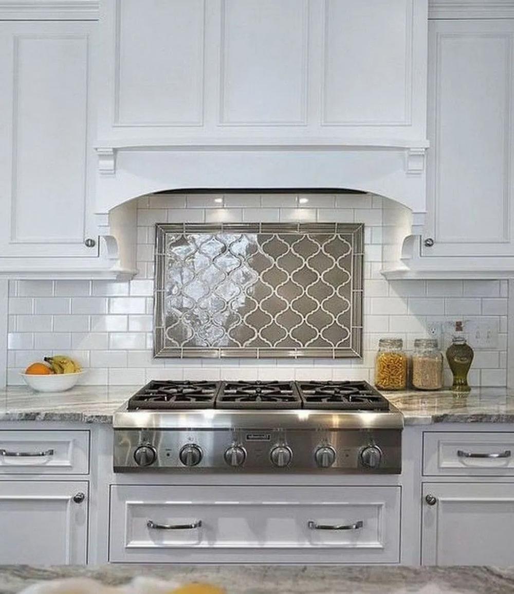 Popular Modern Farmhouse Kitchen Backsplash Ideas 29 (With ...