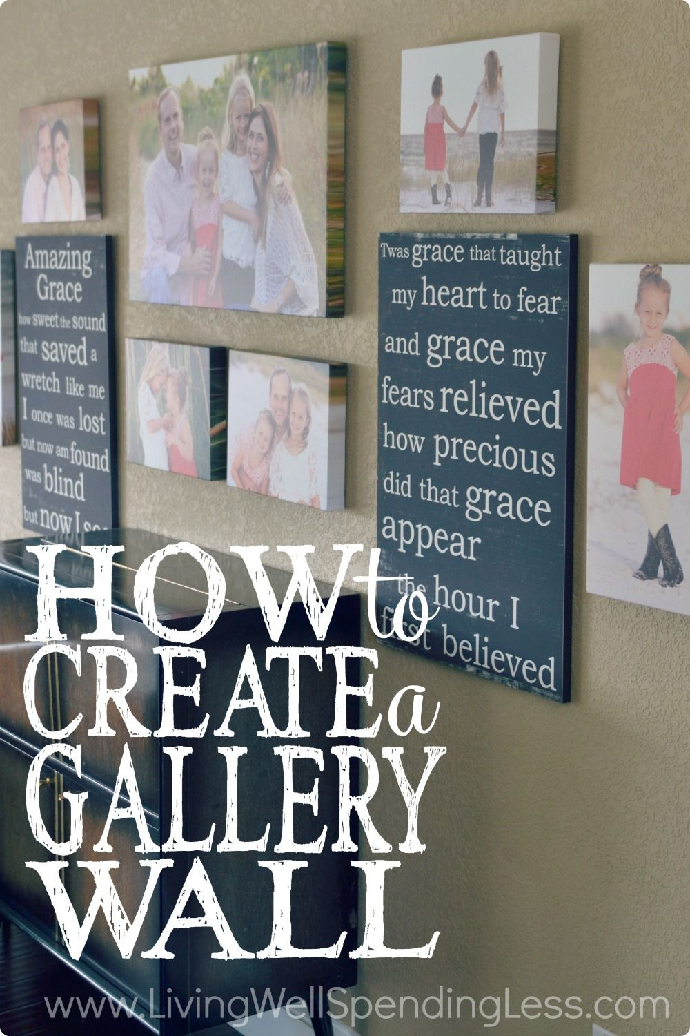 How to create a gallery wall in six simple steps gallery wall