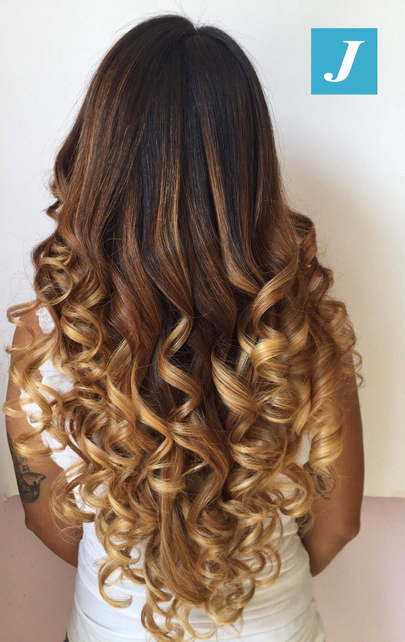 20+ Curls For Long Thin Hair