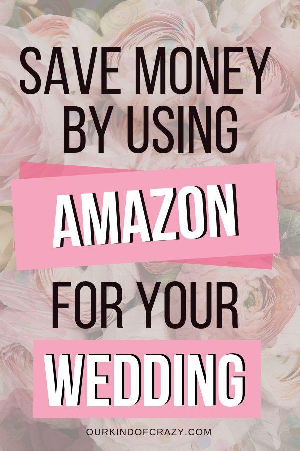 So sparen Sie Geld bei Ihrer Hochzeit mit Amazon