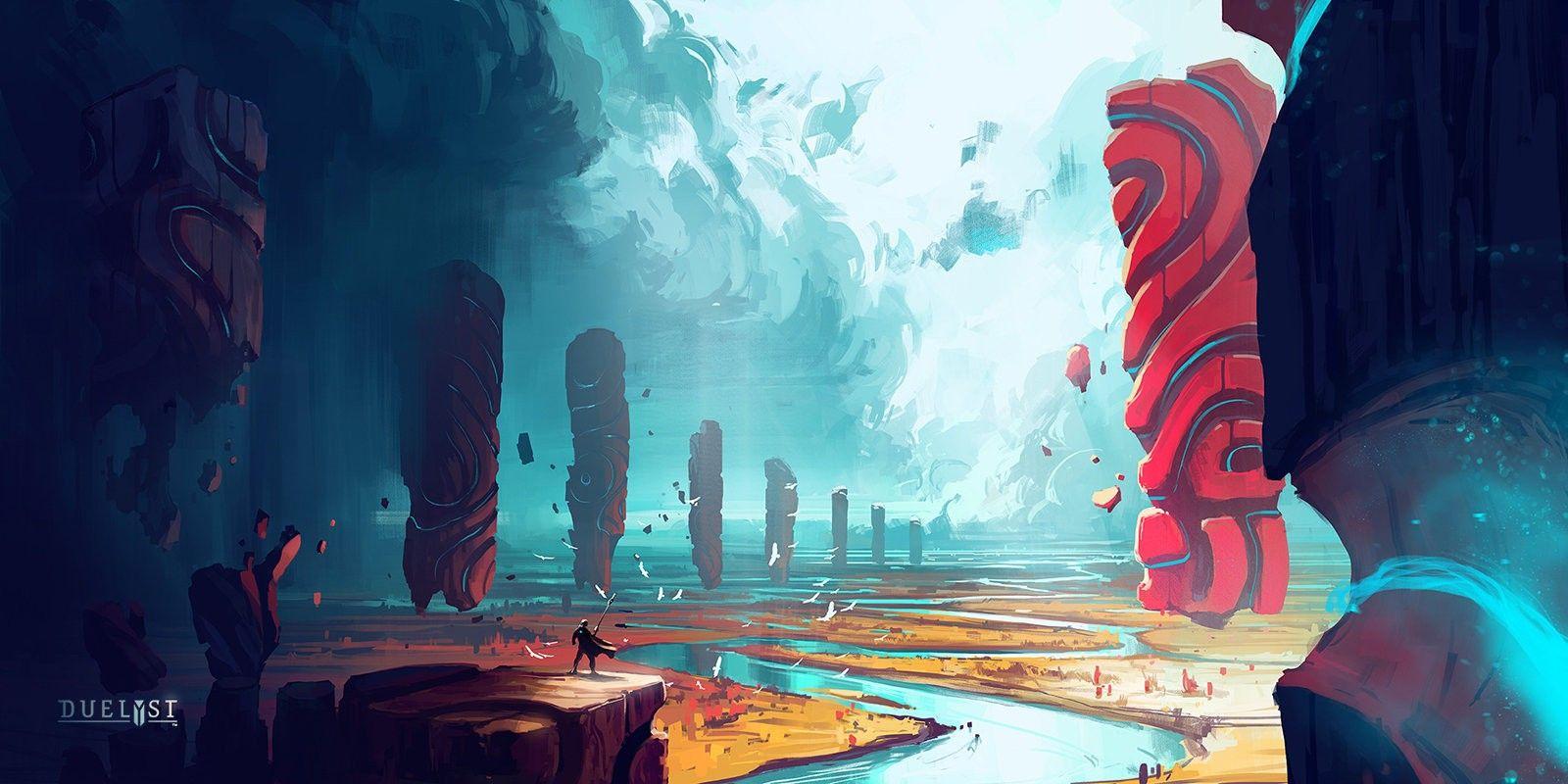 Sci Fi Anime Landscape Art Environment Concept Art Animation Art Environmental Art