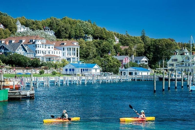You 39 Ve Heard About Mackinac Island Forever Now It 39 S Time To Take A Tour F Grand Hotel Mackinac Island Macinac Island Michigan Mackinac Island Michigan