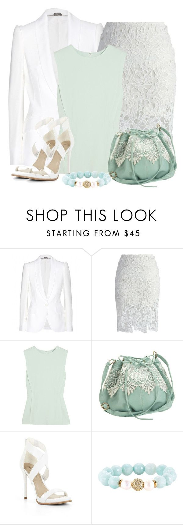 """""""Untitled #4639"""" by cassandra-cafone-wright ❤ liked on Polyvore featuring Alexander McQueen, Chicwish, Alexander Wang, BCBGMAXAZRIA and Devoted"""