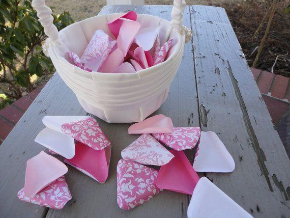 Flower Girl Toss Petals  Paper Toss Petals  Made to by PoshStudios, $6.00