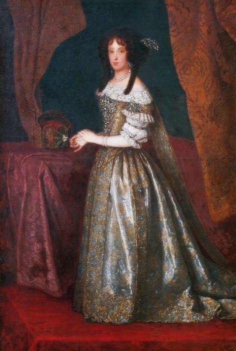 International Portrait Gallery: Retrato de la Emperatriz Claudia Felicitas de Aust...