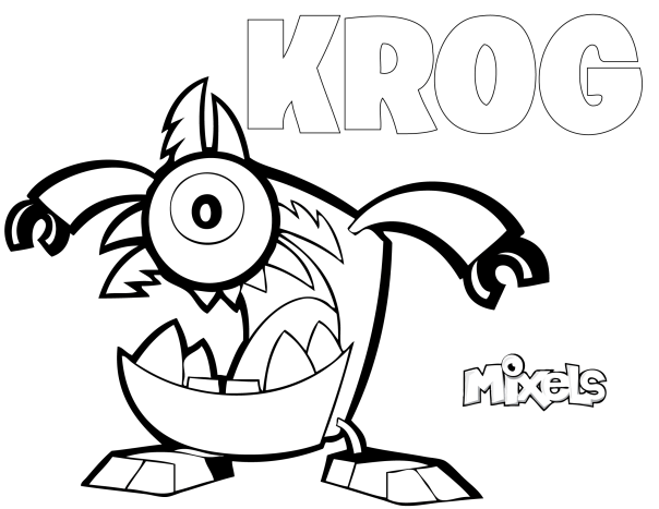mixels coloring pages to print - photo#2