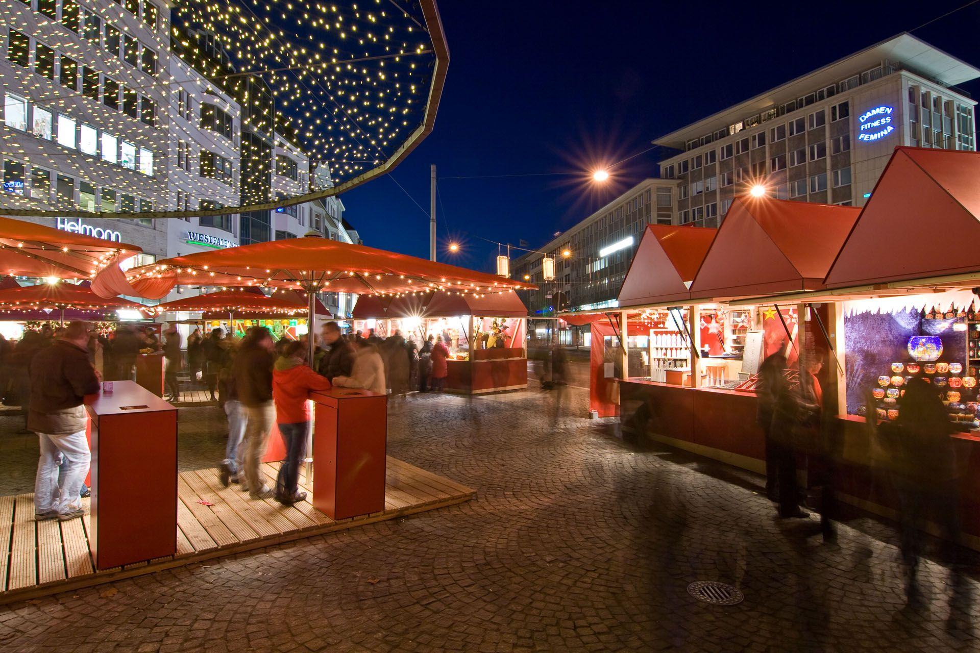 Bielefelder Weihnachtsmarkt.Weihnachtsmarkt Jahnplatz Weihnachtsmarkt Markt Und Bielefeld