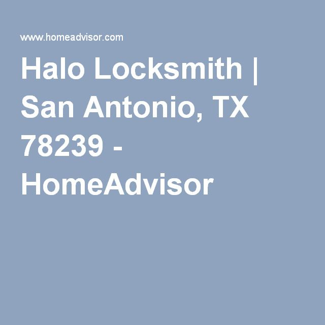 Halo Locksmith | San Antonio, TX 78239 - HomeAdvisor