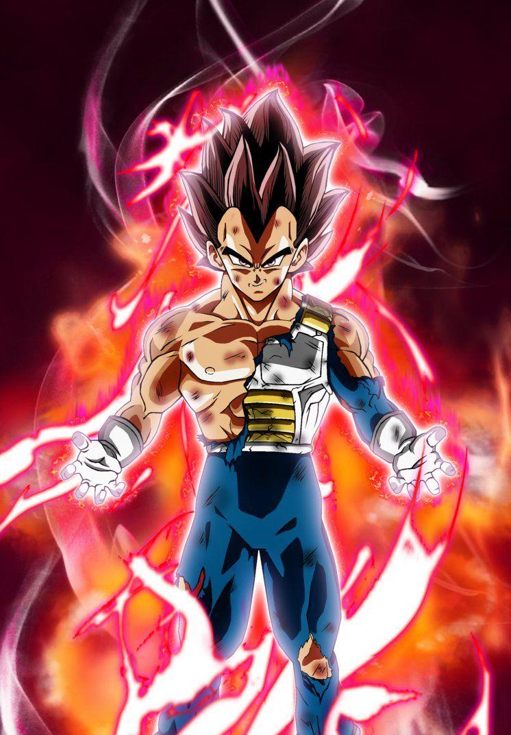 Vegeta Ultra Instinct By Jamesblade Anime Dragon Ball Super Dragon Ball Super Manga Dragon Ball Super Goku