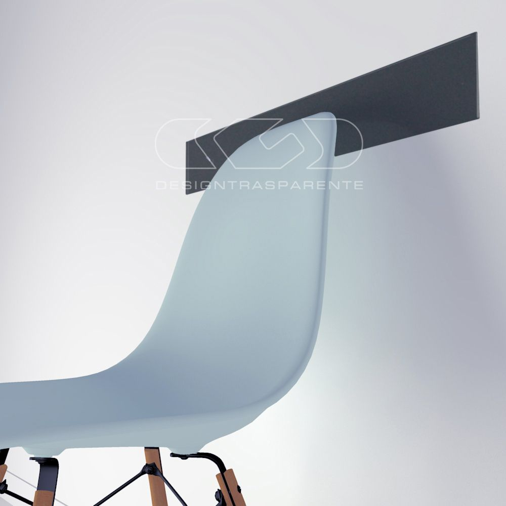 Fasce paracolpi proteggi muro in plexiglass colorato