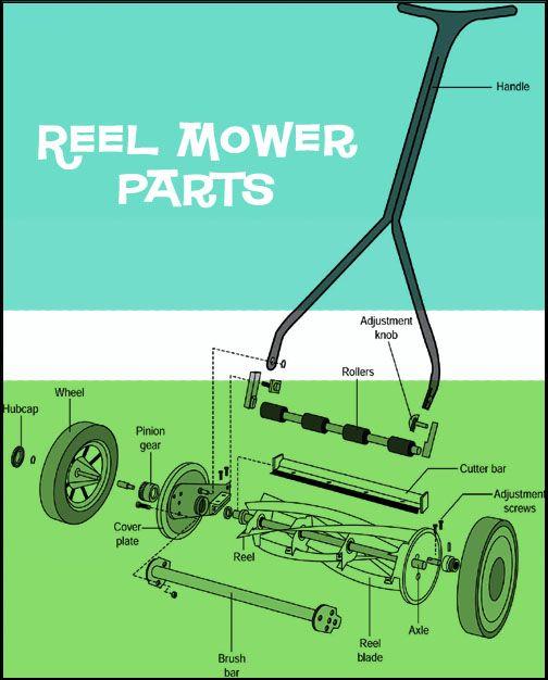 How To Service Your Reel Mower Reel Mower Lawn Mower Maintenance Manual Lawn Mower