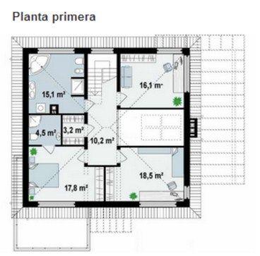 planos de casas de dos pisos 10 x 12