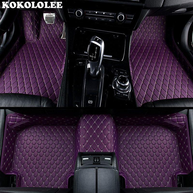 Kokololee Custom Car Floor Mats For Hyundai Tucson Ix35 Ix25 Elantra Terracan Accent Azera Lantra Car Accesso Custom Cars Custom Car Floor Mats Car Accessories