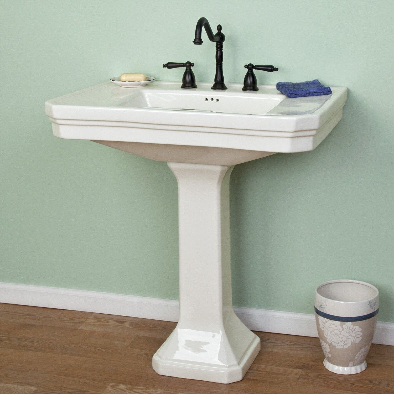 Kacy Porcelain Pedestal Sink Pedestal Sink Pedestal Sink