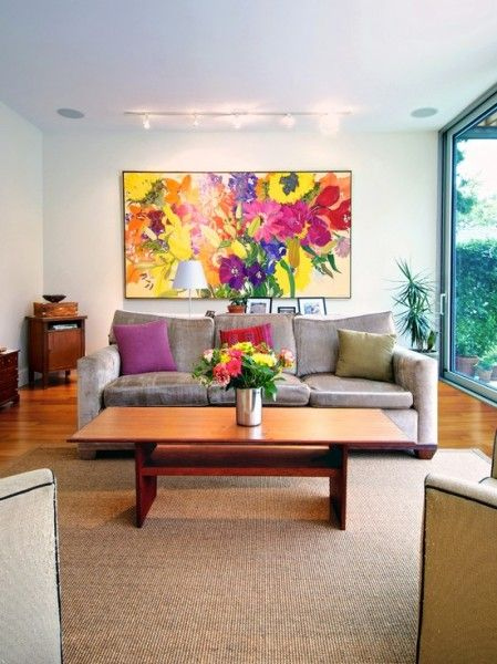 bright eye catching wall art living room art living on modern acrylic paintings for living room id=80376
