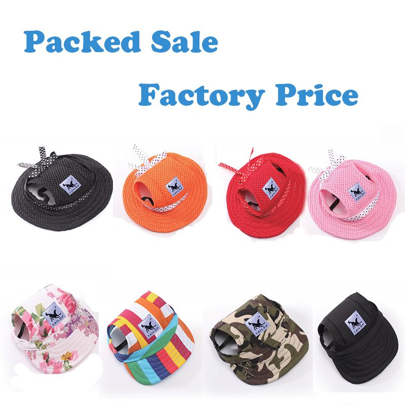 TAILUP Small Pet Dog Cat Baseball Cap Puppy Chihuahua Pet Striped Sun Hat 4Pcs/lot Small Wholesale -in Dog Caps from Home & Garden on Aliexpress.com | Alibaba Group