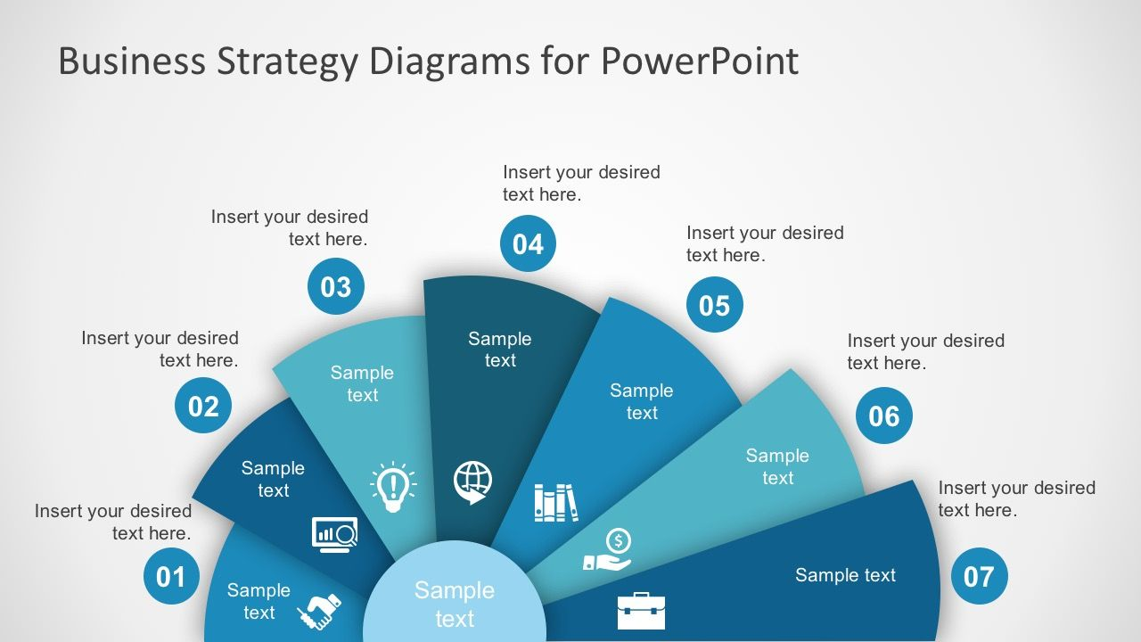 free business strategy diagram powerpoint | diagram, business and, Modern powerpoint