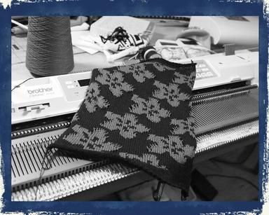 FREE Punch Card Patterns by Brother, KnitMaster, Silver Reed and Studio knitting…