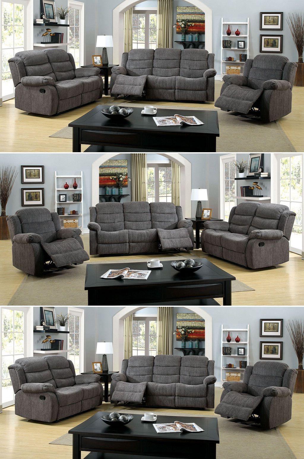 Fabric Reclining Sofa Sets Reclining Sofa Furniture Design