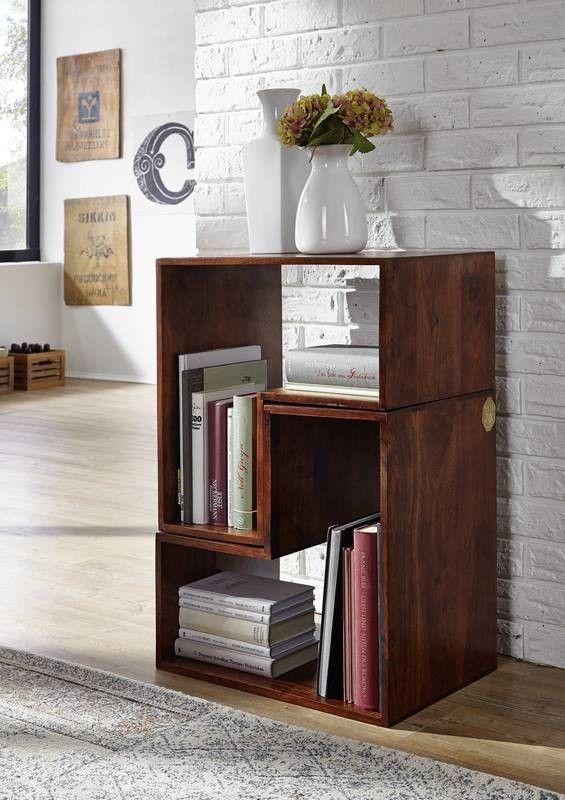 DELHI Designer Regal-System #22 Akazie nougat Jetzt bestellen unter - designer mobel bucherregal