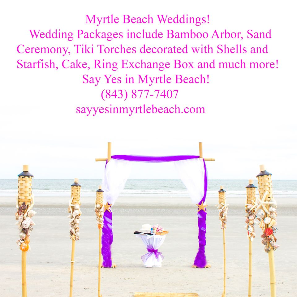 Myrtle Beach Weddings, Myrtle Beach Wedding Packages, All