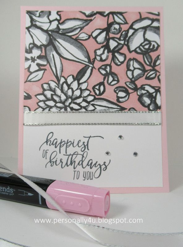 Happiest Birthday In Petal Passion 2018 Su Occasions Pinterest