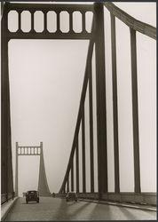 The New Rhine Bridge, Krefeld; Paul Wolff - about 1935 - 1940