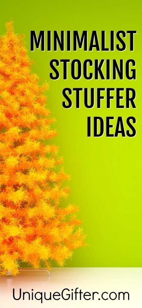 50 Clutter-Free Stocking Stuffers for Minimalists - Unique Gifter