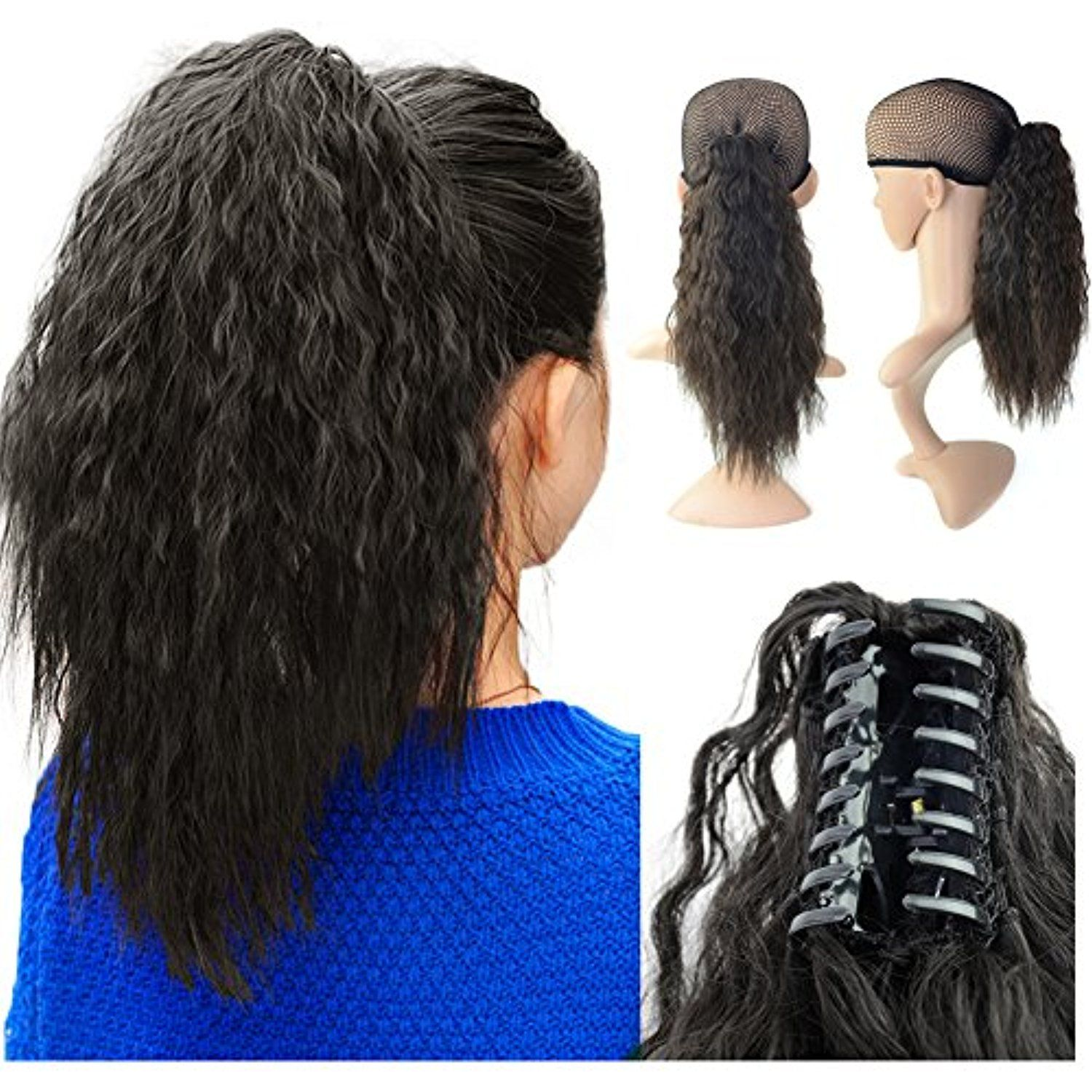 Beauty Angelbella 15 Claw Ponytail Clip In Hair Extensions