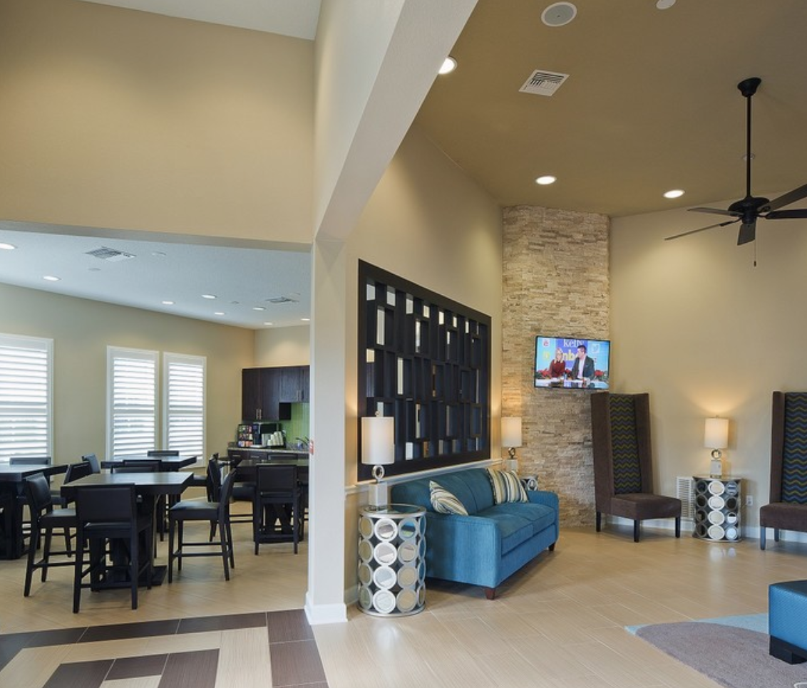 Our Residents Love Hanging Out In Our Clubhouse At The