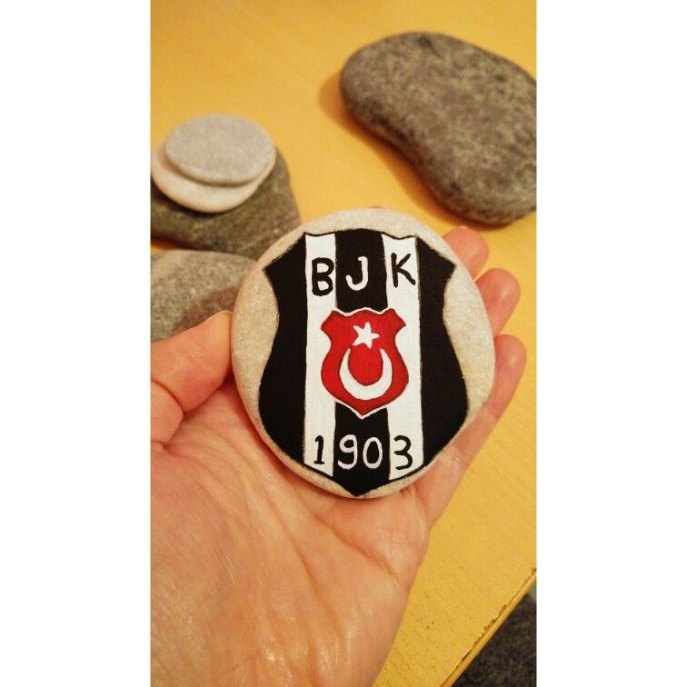 Tas Boyama Besiktas Logo