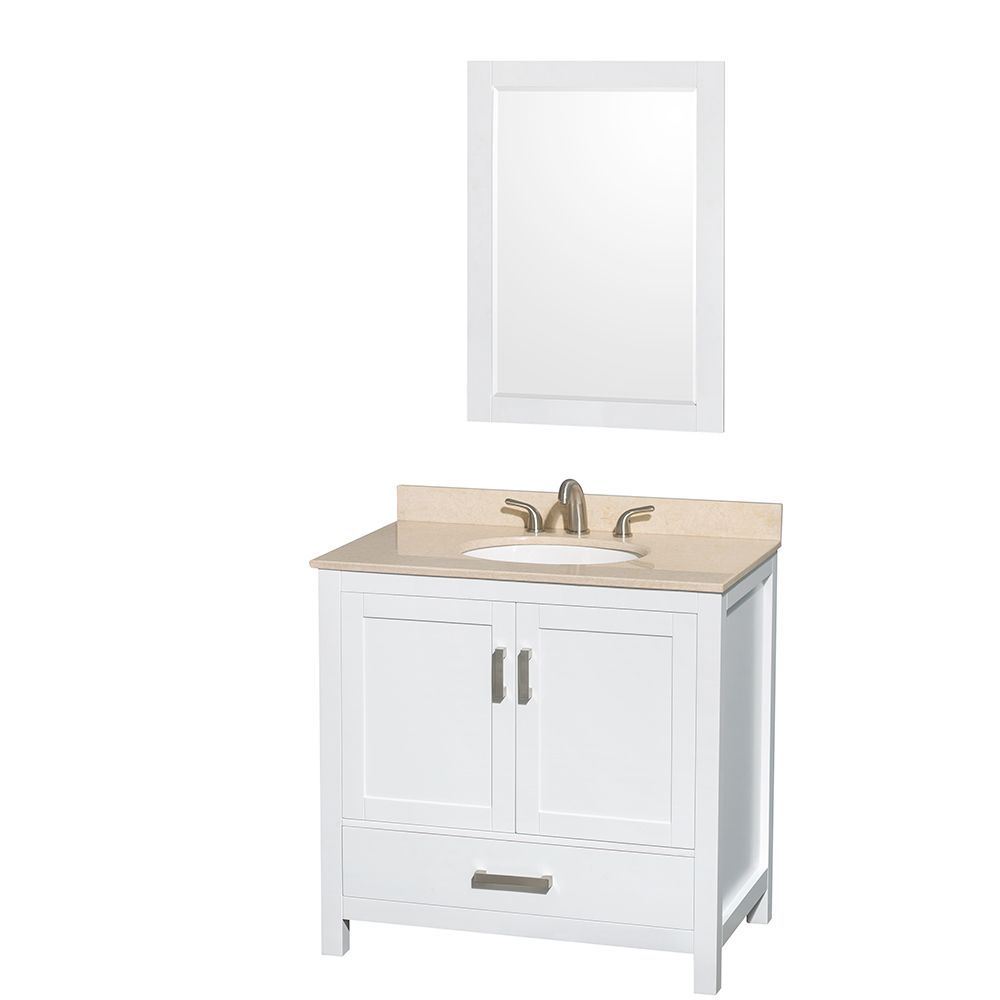 Mirror Size For 36 Vanity Florence 48 inch Vanity Mirror BC 036W
