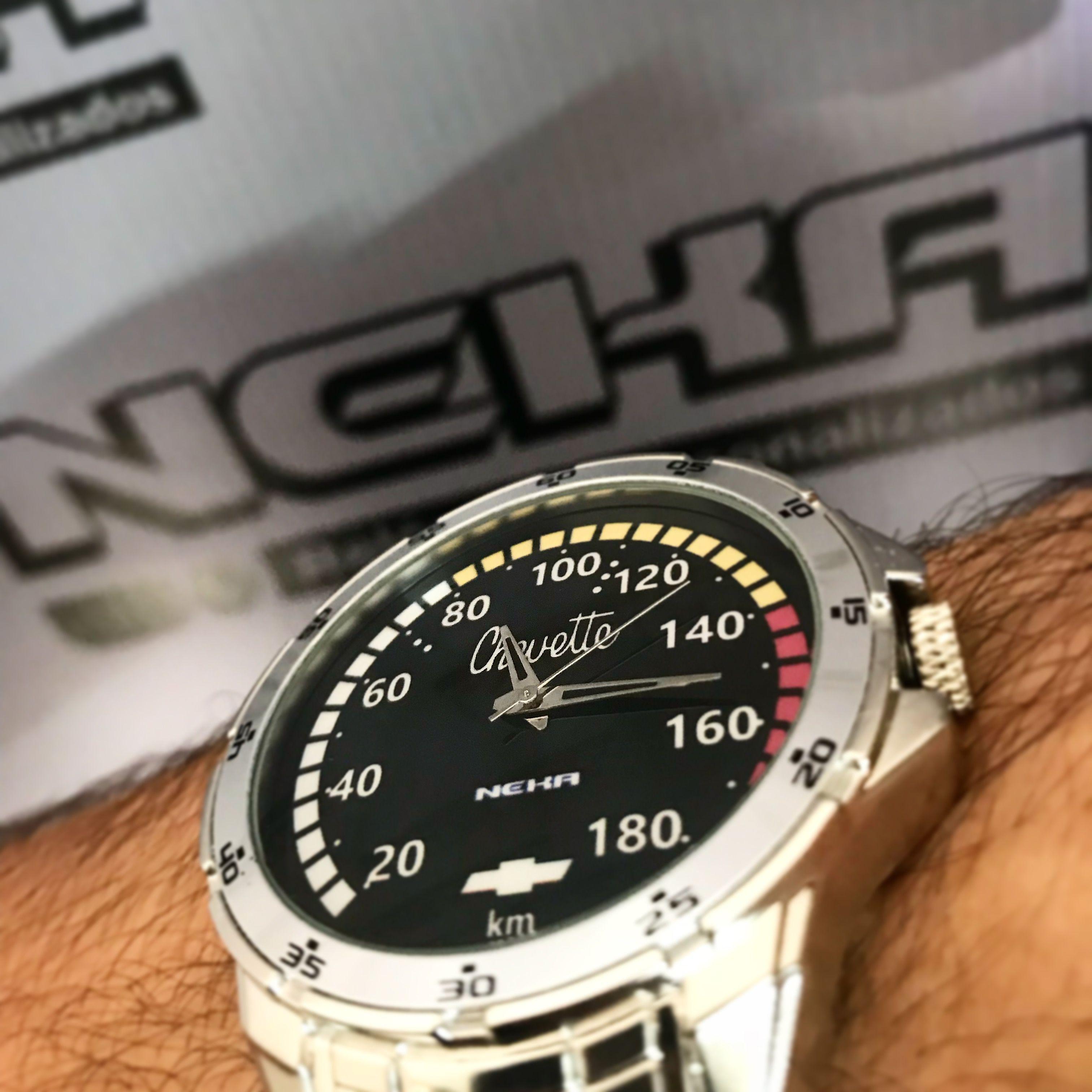 b181ff5a767 Relógio personalizado painel chevette