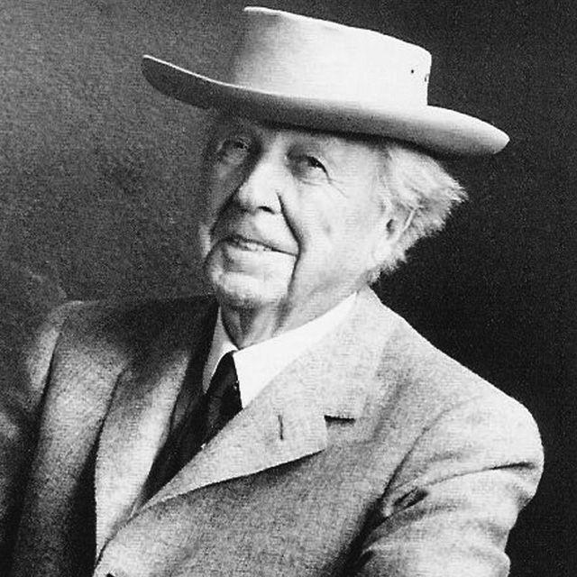 Frank Lloyd Wright Born Lincoln 8 June 1867 9 April 1959