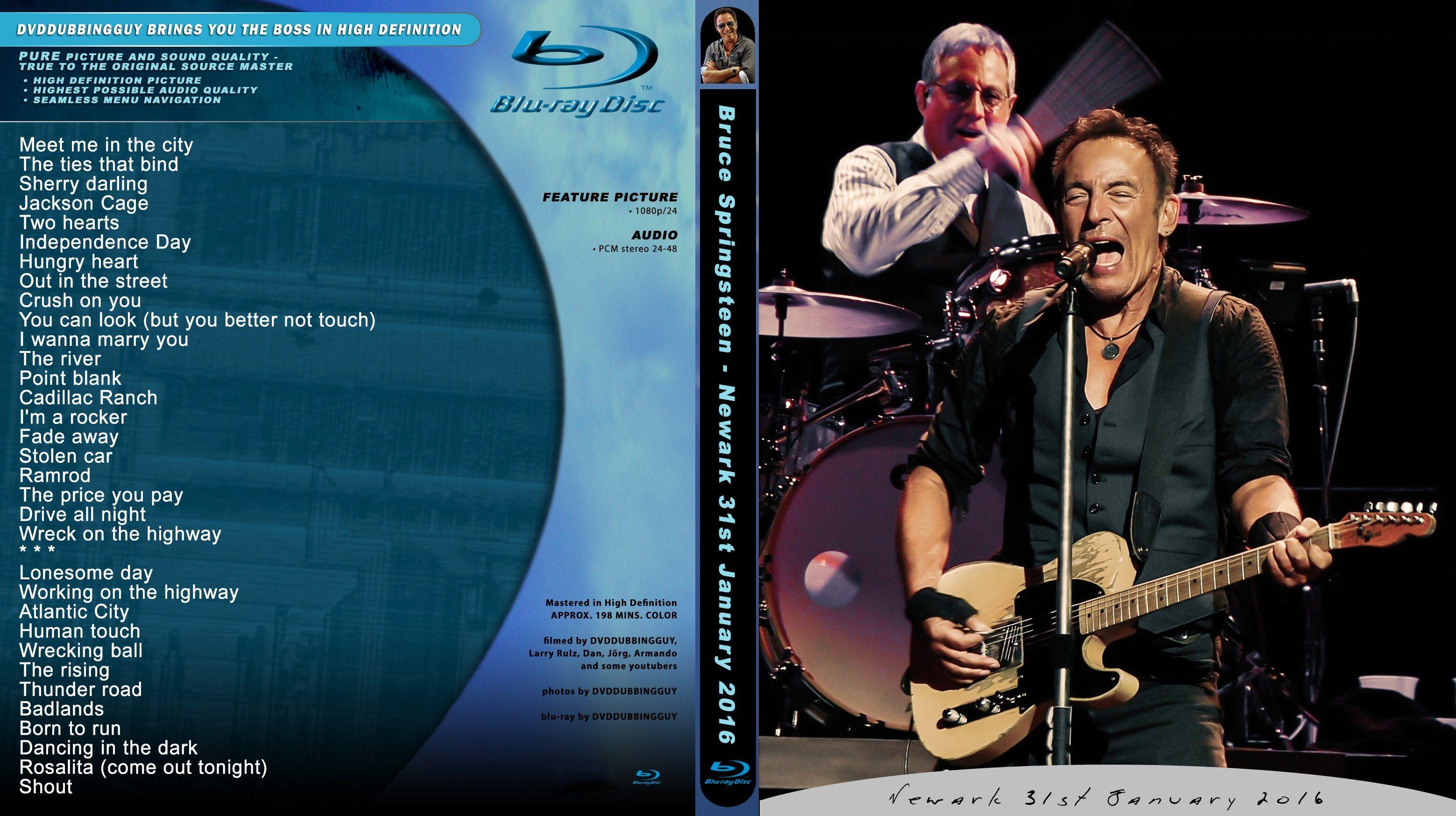 Bruce Springsteen NEW JERSEY Newark 31.1.2016 FULL SHOW