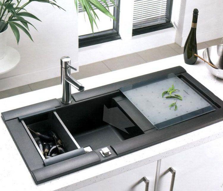Lavello da cucina dal design moderno n.07