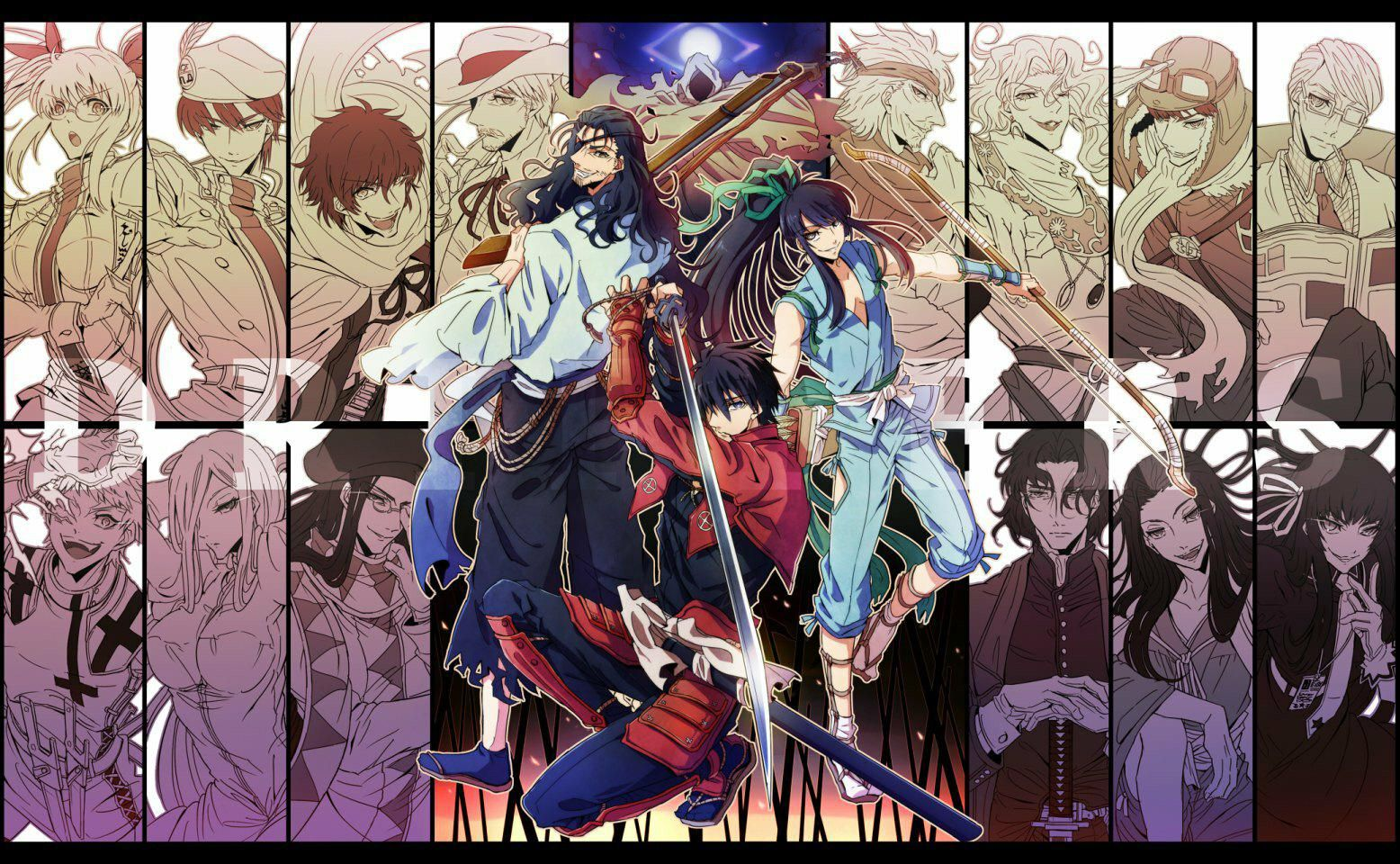 Drifters Anime Anime Wallpaper Anime Characters