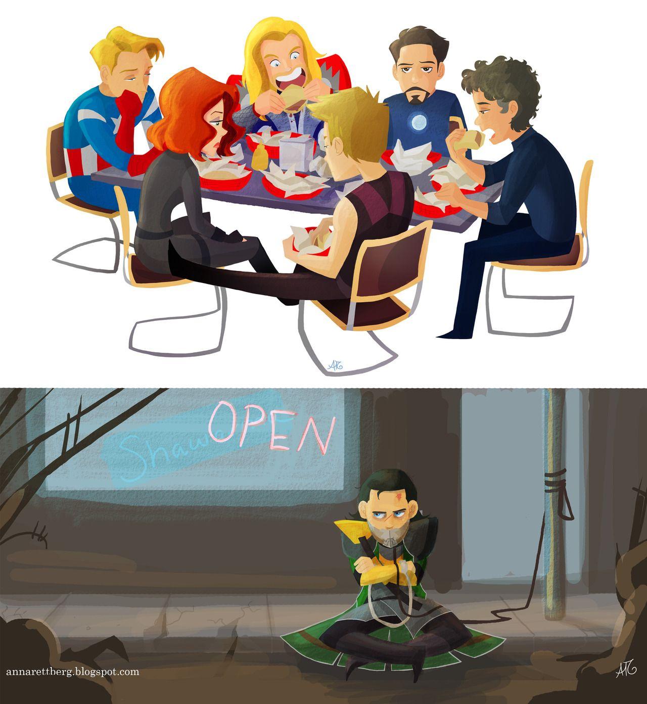 No schawarma for Loki :(