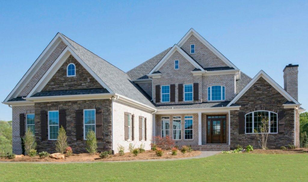 Chesapeake pearl face brick by gunter homes design for Face brick homes