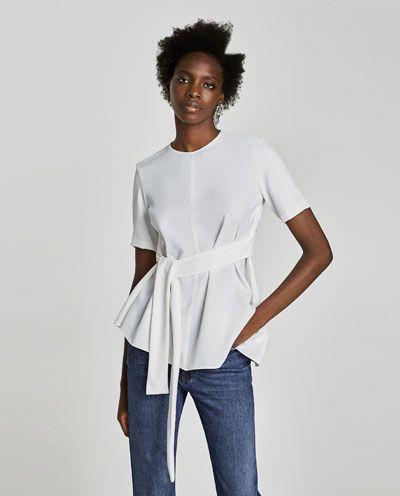c32faad55 Camisas y blusas de mujer | Nueva Colección Online | ZARA España ...