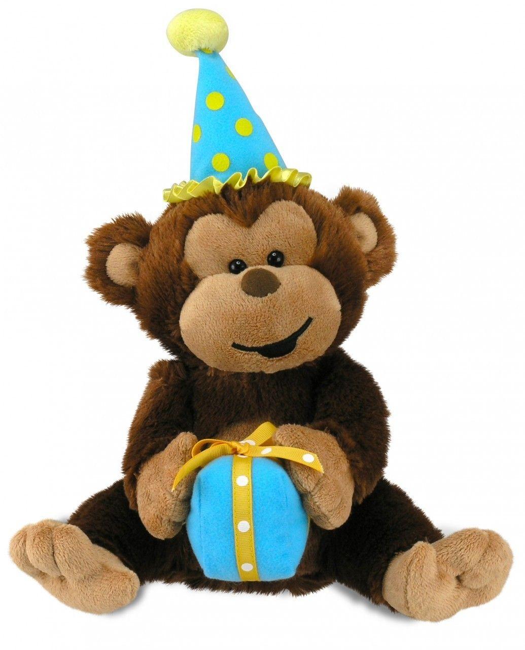 Cuddle Barn 11 Singing Plush Stuffed Animal Bingo My Name-O Flaps His Ears and Claps Hands