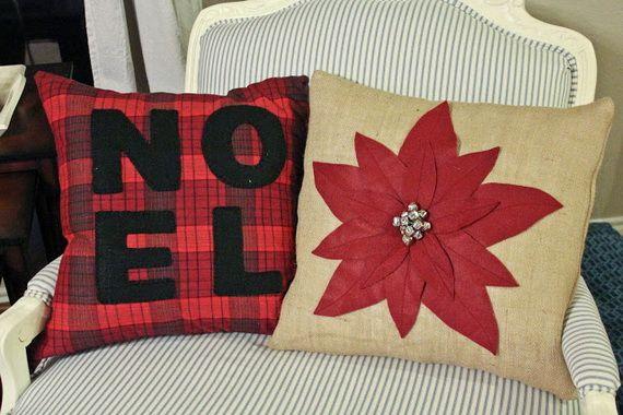 Gorgeous Handmade Christmas Pillow Inspiration & Gorgeous Handmade Christmas Pillow Inspiration | Cojines de ... pillowsntoast.com