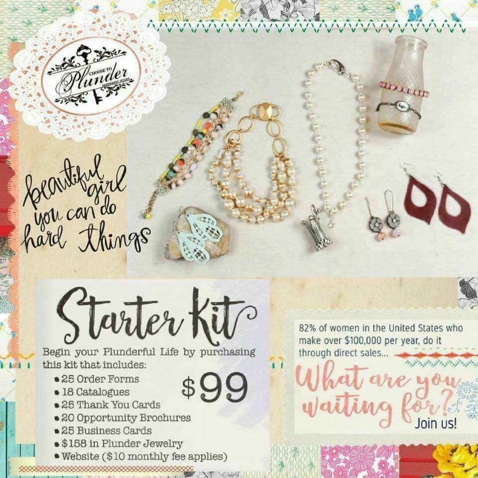 Plunder Design Jewelry Starter Kit www.plunderdesign.com/CaitlynThaw ...