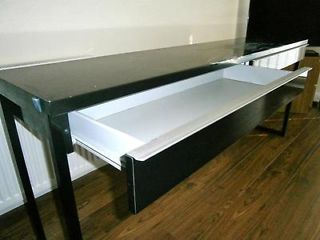 BESTA BURS Desk IKEA A Long Table Top Makes It Easy To Create Workspace For Two