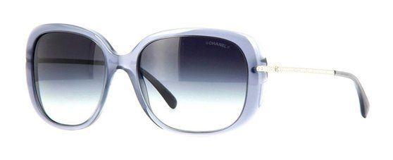 92f79035c3 Chanel Rhinestones Square Grey Transparent Sunglasses CH5292BA 1467 S6 58   apparel  eyewear  chanel  sunglasses  shops  women  departments