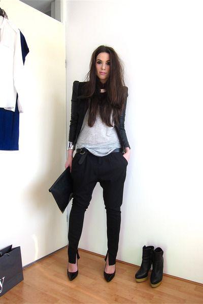 ffd45df8ca7 tailored harem pants