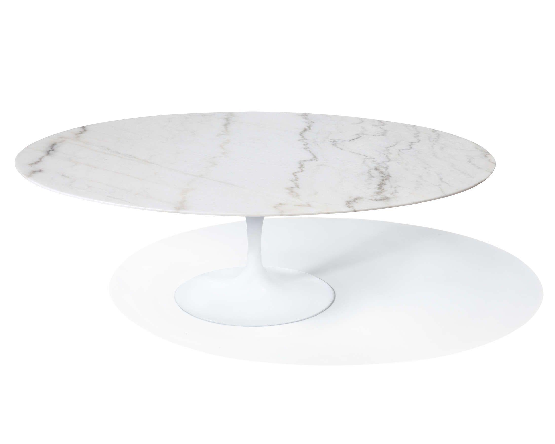 Tulip Table Oval   Calacatta