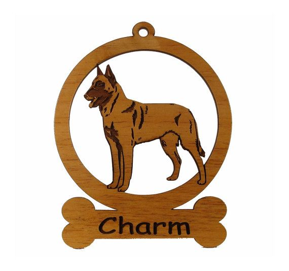 Belgian Malinois Ornament 081623 Personalized With Your Dog S Name Dog Names Malinois Belgian Malinois