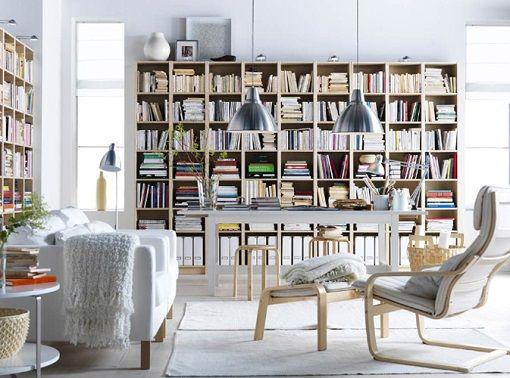 Descubre las mejores librer as de ikea para tu sal n las for Librerias clasicas para salon