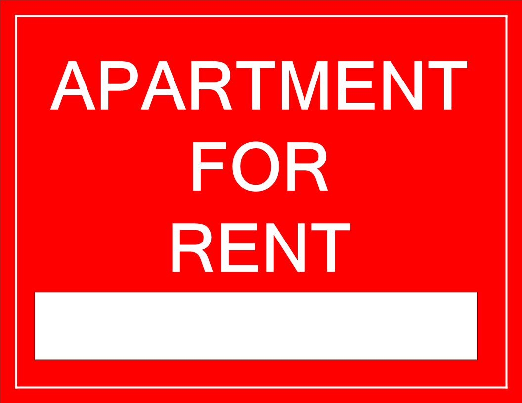 for rent sign apartment download this printable apartment for rent sign template and